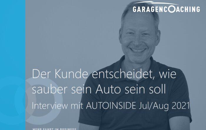 Interview AutoInside Autoreinigung